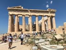 Acropolis de Atenas Fotos de Stock