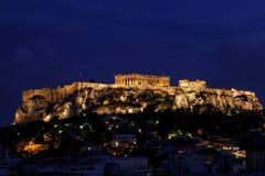 Acropolis de Atenas Foto de Stock