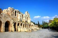 Acropolis de Atenas, Greece Fotografia de Stock