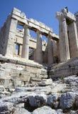 Acropolis de ruínas de Atenas fotografia de stock