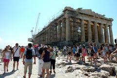 Acropolis em Atenas foto de stock royalty free