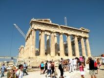 Acropolis em Atenas fotografia de stock
