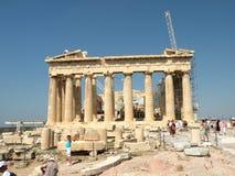 Acropolis em Atenas fotografia de stock royalty free