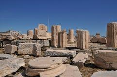Acropolis em Atenas, Greece Fotos de Stock