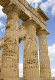 Acropolis em Sicília Imagens de Stock Royalty Free