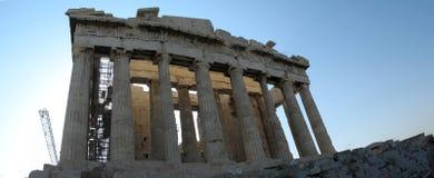 Acropolis facade view Stock Photography