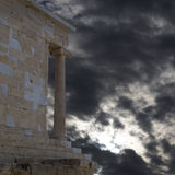 Acropolis Greece, Athena Nike ancient temple Stock Images