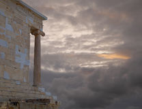 Acropolis Greece, Athena Nike ancient temple Stock Photography