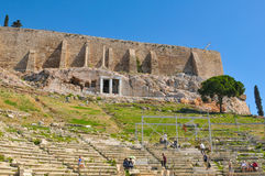 Acropolis in Greece, Athens Stock Images