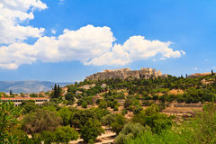 Acropolis in Greece Royalty Free Stock Image