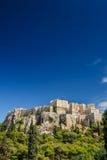 Acropolis hill daytime Stock Photo