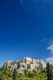 Acropolis hill daytime Stock Images