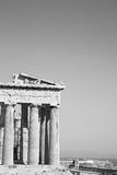 Acropolis and  historical   athens in greece the old architectur Stock Photography