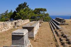 Acropolis Kameiros,island Rhodes, Greece Stock Photography