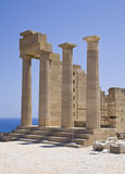 Acropolis of Lindos Stock Photos