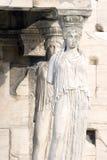 Acropolis Maiden Columns Stock Images