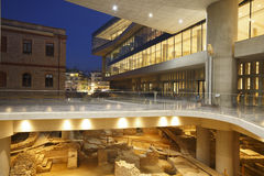 Acropolis museum, Athens. Royalty Free Stock Images