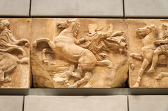 Acropolis museum frieze no. 8 Royalty Free Stock Image