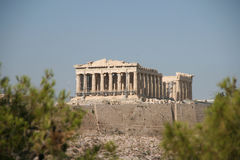 Acropolis Of Athens Greece Stock Image
