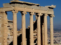 Acropolis of Athens, Greece Royalty Free Stock Photography