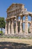 Paestum Temples Stock Image
