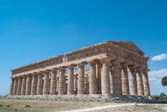 Paestum Temples Royalty Free Stock Images