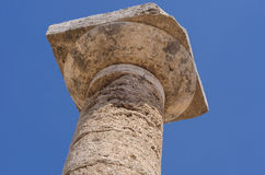 Paestum Temples Royalty Free Stock Photos