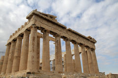 Acropolis and parthenon Athens Greece Stock Image