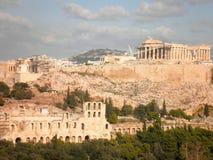 Acropolis Parthenon Athens Greece Royalty Free Stock Photos