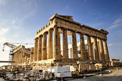 The Acropolis Parthenon in Athens, Greece Stock Image