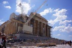 Acropolis Parthenon Temple Royalty Free Stock Images