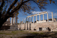 Acropolis Pergamon Royalty Free Stock Photos
