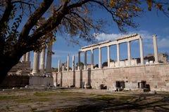 acropolis pergamon Royaltyfria Foton