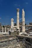 Acropolis of the Pergamon. Izmir Royalty Free Stock Photos