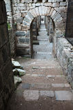 Acropolis of Pergamon in Turkey Stock Images