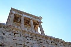 Acropolis. Photo taken from Acropolis in Athens, Greece Royalty Free Stock Photo
