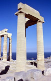 Acropolis Pillars Royalty Free Stock Image