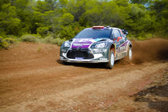 Acropolis Rally 2011 Royalty Free Stock Photos