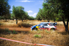 Acropolis Rally 2011 Stock Images