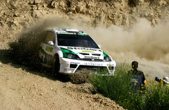Acropolis Rally, Justin Wilson\Scott Martin Stock Photos