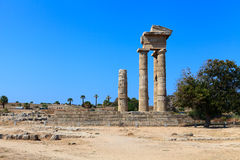 Acropolis of Rhodes Royalty Free Stock Photos