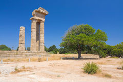 Acropolis of Rhodes, Greece Royalty Free Stock Photo