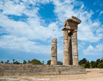 Acropolis rhodes Stock Photography