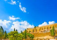 Acropolis rock Stock Photography