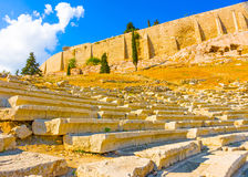 Acropolis rock Stock Image