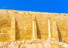 Acropolis rock Royalty Free Stock Photos