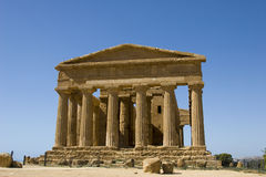 Acropolis in Sicily Stock Image