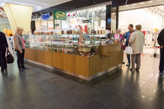 The acropolis store in KLAIPEDA Stock Photo