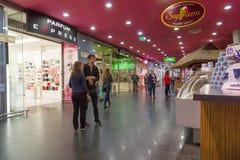 The acropolis store in KLAIPEDA royalty free stock photos