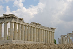 Acropolis Temple Stock Photography